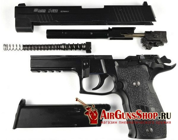 Cybergun Sig&Sauer P226 X-FIVE CO2 Blowback фото и характеристики